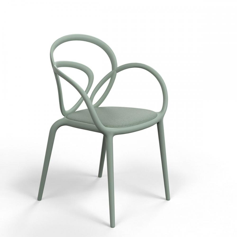 Sedia loop with cushion indoor