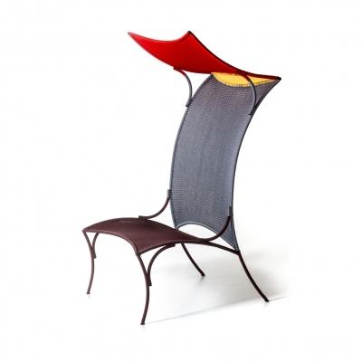 Moroso Arco high armchair